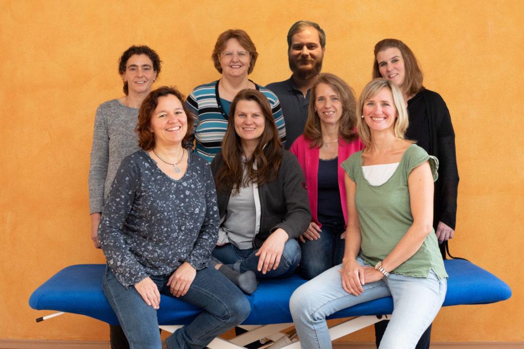 Praxis am Ostentor-Gruppenfoto